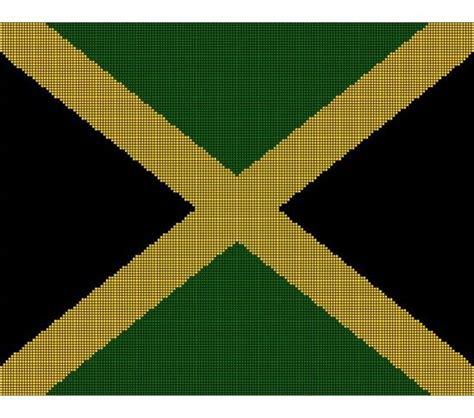 jamaica pattern jamaica flag crochet afghan pattern graph 5 0 graphs