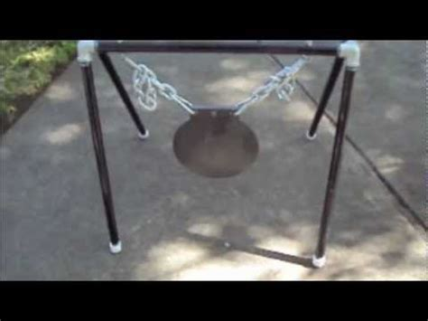 diy steel target stand ar500 steel gong stand