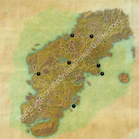 glenumbra treasure map eso treasure maps guides