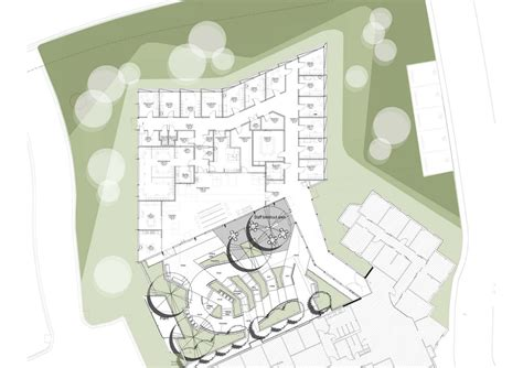 drug rehabilitation center floor plan gallery of belmont community rehabilitation centre