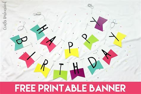 printable happy birthday banner free printable birthday banner best business template