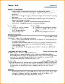 9 resume career highlights bid template