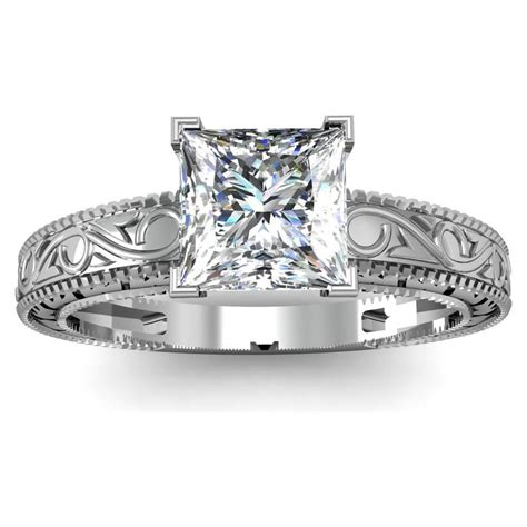 unique princess cut engagement rings hd ring