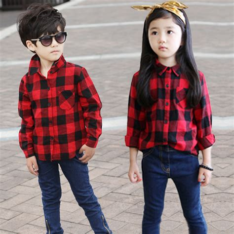 baby boy red and black checkered shirt popular boys black shirts buy cheap boys black shirts lots