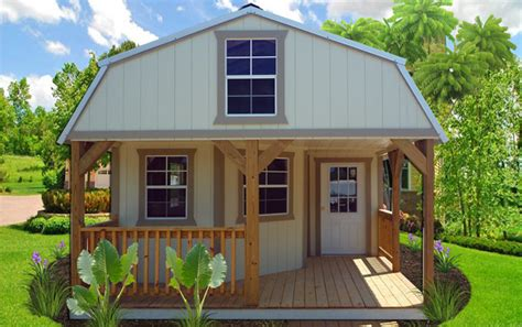 Deluxe Cottages by Interior Finished Deluxe Lofted Barns Studio Design