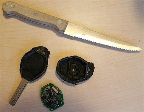 Bmw 1er Batterie Leer Tür öffnen by Bmw Schl 252 Ssel Batterie Auto Bild Idee