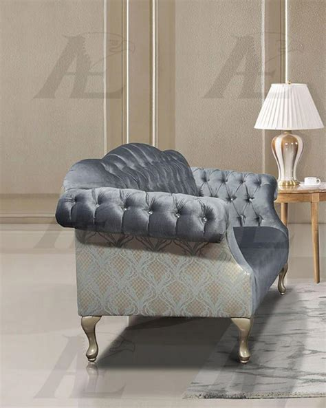 Light Blue Tufted Sofa American Eagle Ae2603 Lb Light Blue Tufted Sofa And Loveseat Set Fabric 2pcs Sofas Loveseats