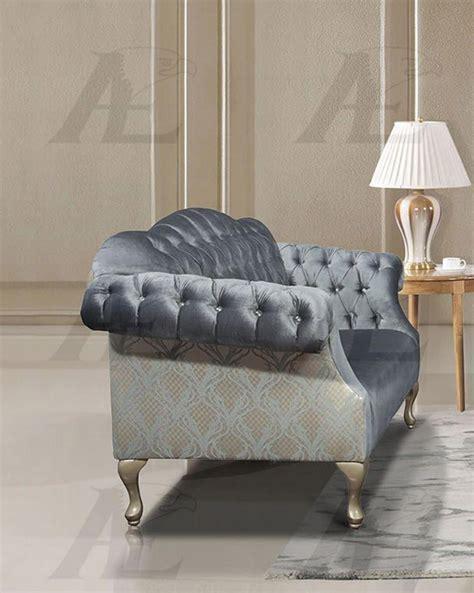 light blue tufted sofa american eagle ae2603 lb light blue tufted sofa and