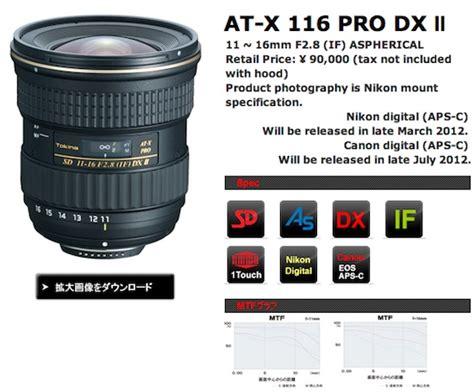 Lensa Kamera Dslr Tokina At X 11 20mm 11 20 F2 8 Pro Dx For Canon Sl lensa tokina at x 11 16 f 2 8 pro dx kamera kamera