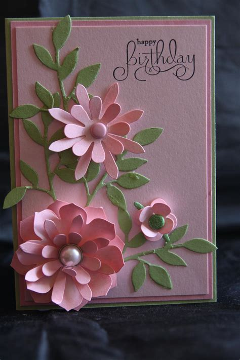 card flowers stin up sizzix die blossom helens card designs
