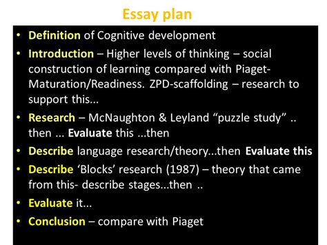 Meaning Of Mba Education by Piaget Essay Play And Child Development Sle Essay