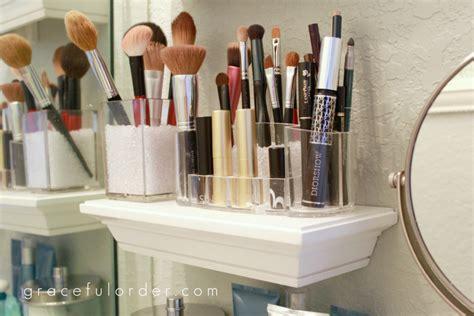 Organisieren Bad Counter badezimmer organisieren und ordnen tipps und diy ideen