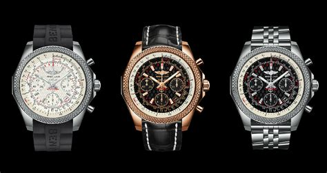breitling bentley back breitling for bentley b06 s watch has the vehicle s grille