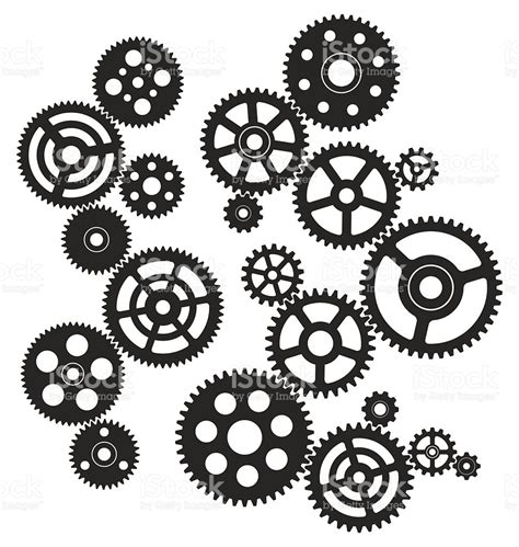 picture illustration gears stock vector 518281396 istock