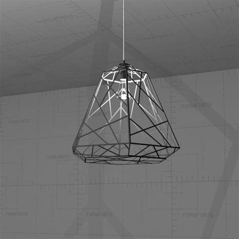 Revit Light Fixture Families Wright Stuff Light Pendant 3d Model Formfonts 3d Models Textures