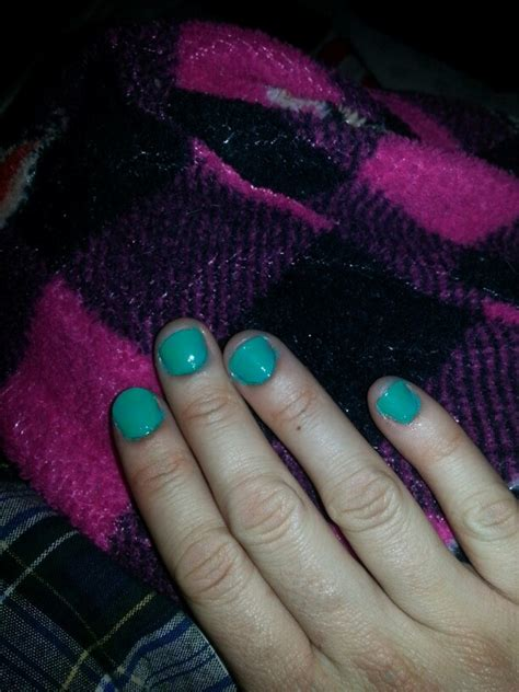 Has Some Messed Up Nails by Boyfriend Just Did My Nails I Messed Up The Left A