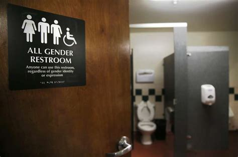 California Bathroom Law Lawmaker Pushes For All Gender Restrooms Sfgate