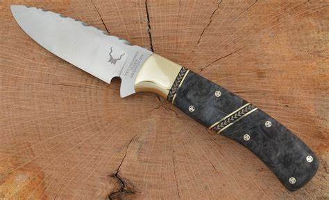 Handmade Top - a handmade custom knife made by m g muhlhauser