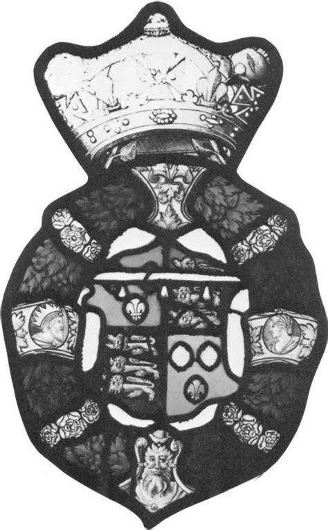 heraldic panel arms of prince edward later edward vi