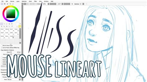 paint tool sai lineart tutorial mouse lineart with a mouse paint tool sai tutorial
