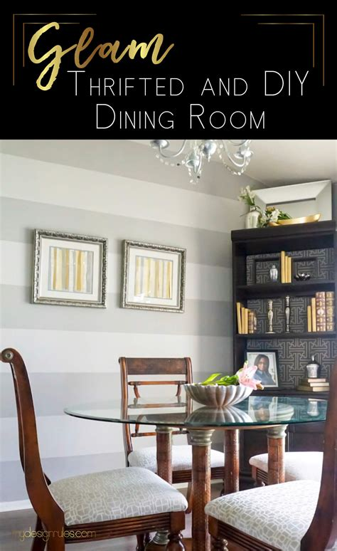 Dining Room Makeovers On A Budget by 200 Budget Dining Room Makeover Design