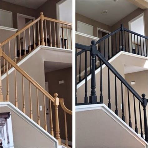 painted banister ideas the 25 best painted banister ideas on pinterest staircase remodel banister ideas