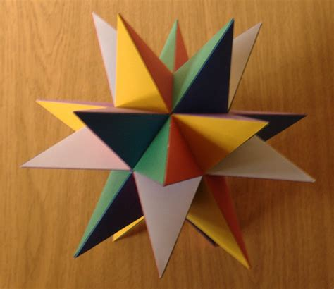 Paper Great Dodecahedron - great stellated dodecahedron