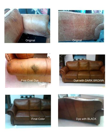 1000 Images About Dye Leather Furniture On Pinterest Change Color Of Leather Sofa