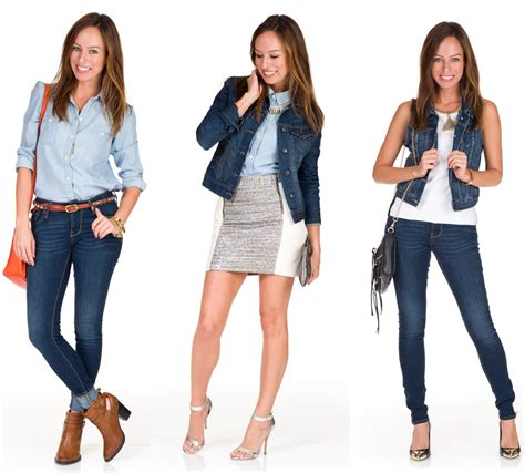 fashion wear three ways to wear denim on denim sydne style