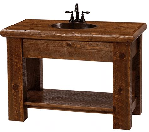 bathroom vanities rustic 101 guidance about bathroom vanity with copper sink