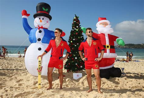 how do they celebrate christmas in australia