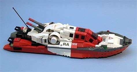 ship car by boat lego futuristic coast guard boat stuff from ffffound