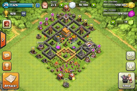 coc th6 best defense layout coc th6 best defence base