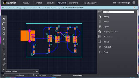 layout pcb online build pcb online using web based eda tools