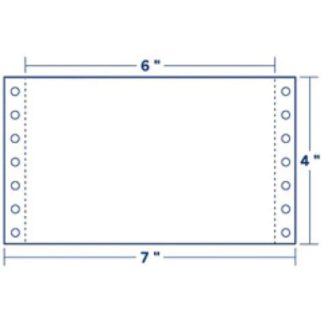 printable dot matrix paper continuous cards pin feed paper