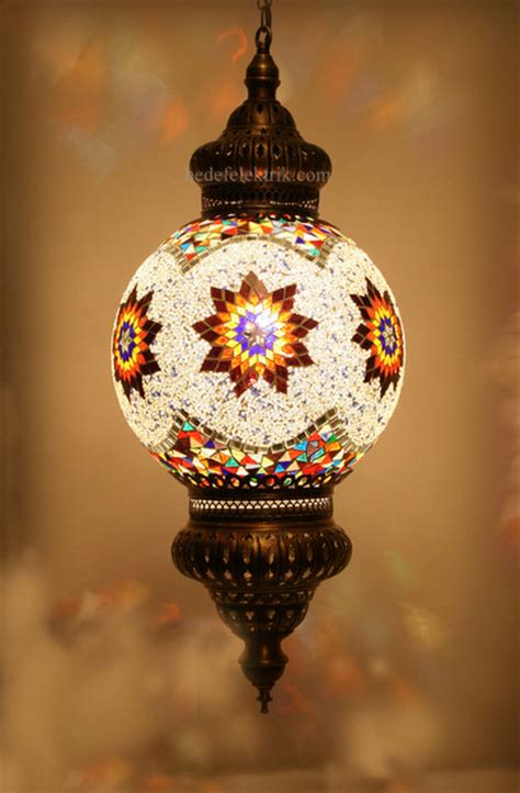 Turkish Pendant Light Turkish Style Mosaic Pendant L 30 Cm Mediterranean Pendant Lighting Other Metro By