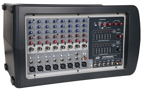 Mixer Audio Peavey peavey xr 8600d pro audio dj 8 channel powered mixer 600