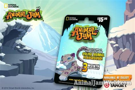 Animal Jam Membership Gift Card Codes - animal jam snow leopard codes animal jam world