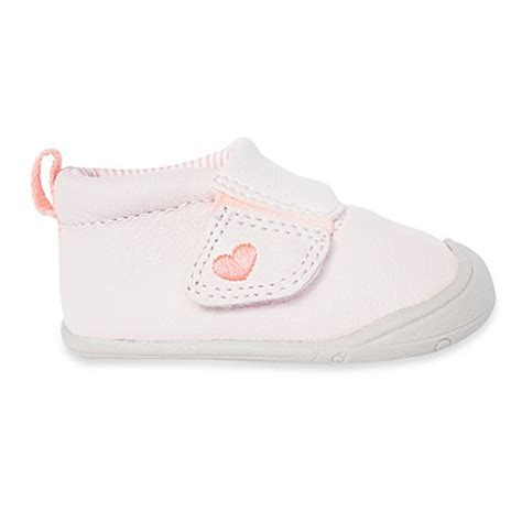 Pink Stage Shoes shoes gt s 174 every step abby size 2 5 stage 1 shoes in light pink from buy buy baby