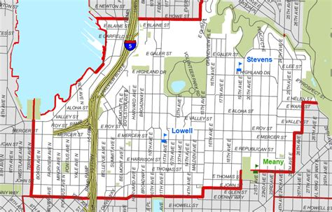 seattle map hill new seattle school boundary maps to be released update