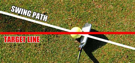swing path for a draw how to hit a draw golf tribune
