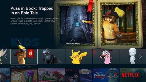 puss in book trapped in an epic tale netflix launches choose your own adventure programmes for