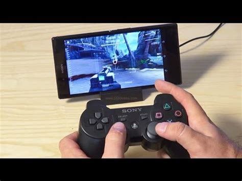 how to use ps3 controller on android how to connect ps3 controller to android phone hd sixaxis controller