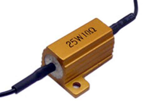 10 ohm 25w load resistor led load resistor kit