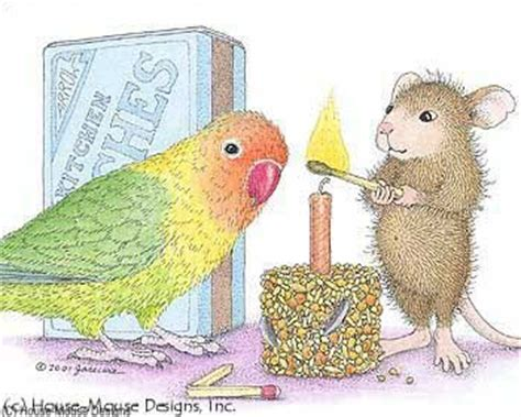 Mouse Happy Bird Q5 1207 best images about house mouse cards and images on mondays o rourke