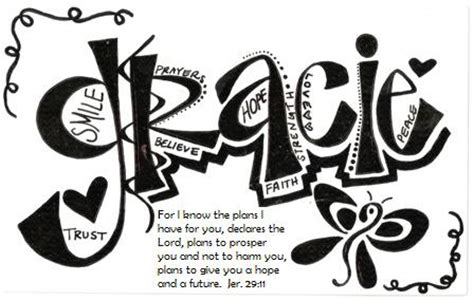 coloring pages of the name grace gracie shirts bracelets gracie s story