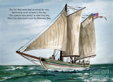 boat canvas delaware a delightful day on the delaware bay painting by nancy