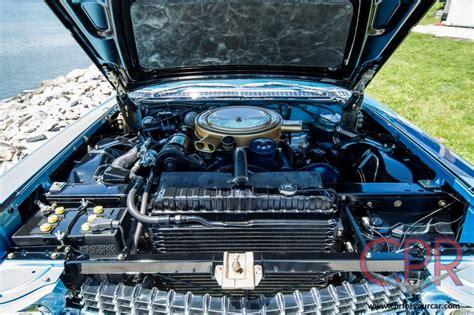 cadillac eldorado engine engine compartment of a 1959 cadillac eldorado biarritz