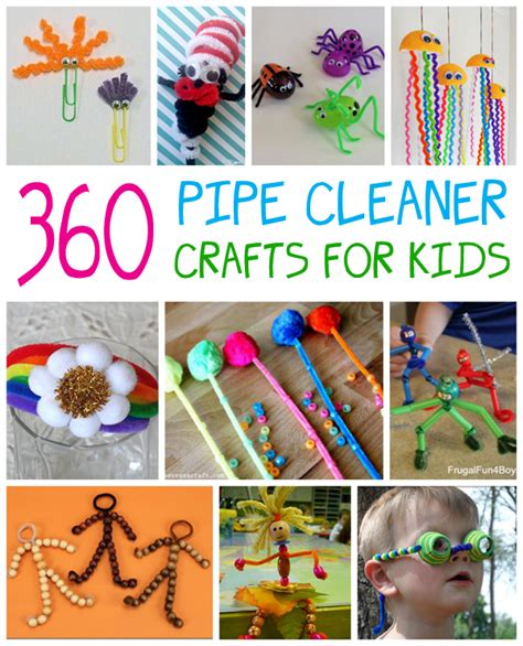 pipe cleaner crafts for pipe cleaner crafts for family crafts