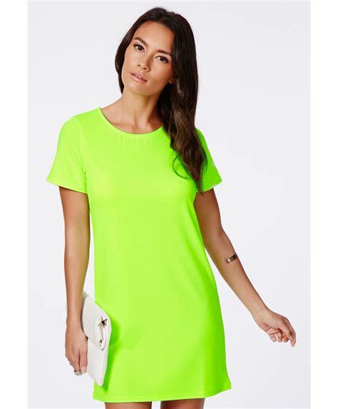 Dress Lime lime green t shirt dress dresses